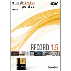 Hal Leonard Music Pro Guide Record 1.5 Beginner DVD (321163)