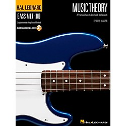 Hal Leonard Music Theory Bass Method Suppliment Book/Cd (695756)