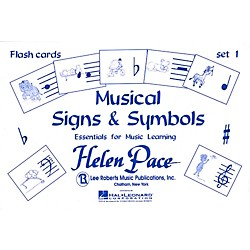 Hal Leonard Musical Signs And Symbols Set I 24 Cards 48 Sides Flash Cards Moppet (372380)
