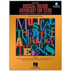 Hal Leonard Musical Theatre Anthology For Teens For Duets Book/2CD's (740191)