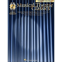 Hal Leonard Musical Theatre Classics For Soprano Vol 1 Book/CD Pkg (740036)