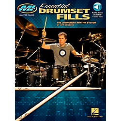 Hal Leonard Musician's Institute's Essential Drumset Fills: The Component Rhythm System (Book/CD) (695986)