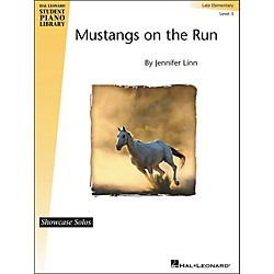 Hal Leonard Mustangs On The Run - Showcase Solo Level 3 Late Elementary Level Hal Leonard Student Piano Library (296811)