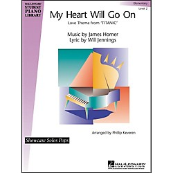 Hal Leonard My Heart Will Go On - Elementary Level 2 Showcase Solos Pops Hal Leonard Student Piano Library (296396)