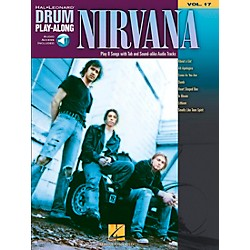 Hal Leonard Nirvana - Drum Play-Along Volume 17 Book/CD Set (700273)