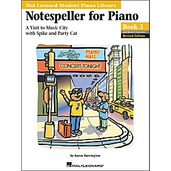 Hal Leonard Notespeller For Piano Book 3 And Book 4 Exercises Hal Leonard Student Piano Library (296167)