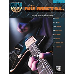 Hal Leonard Nu Metal Guitar Play-Along Series Volume 50 Tab Songbook with CD (699726)