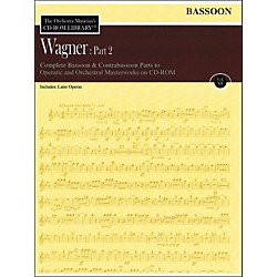 Hal Leonard Orchestra Musician's CD-Rom Library Vol 12 Wagner Part 2 Bassoon (220298)