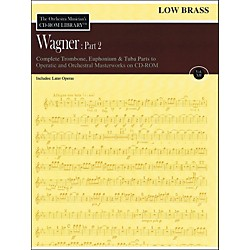 Hal Leonard Orchestra Musician's CD-Rom Library Vol 12 Wagner Part 2 Low Brass (220301)