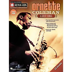 Hal Leonard Ornette Coleman - Jazz Play-Along Volume 166 Book/CD (843241)