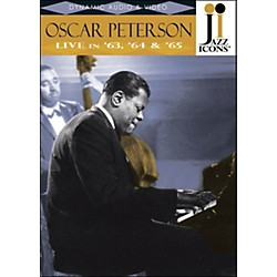 Hal Leonard Oscar Peterson Live In '63, '64 & '65 Jazz Icons DVD (320815)
