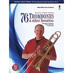 Hal Leonard Pacific Coast Horns - 76 Trombones & Other Favorites, Vol. 2 for Trombone Book/2CD (400779)