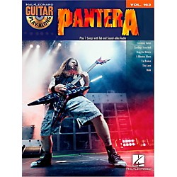 Hal Leonard Pantera - Guitar Play-Along Vol. 163 Book/CD (103036)
