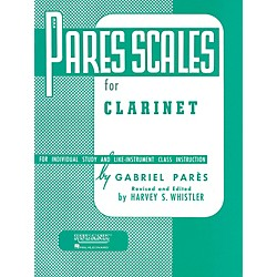 Hal Leonard Pares Scales For Clarinet (4470500)