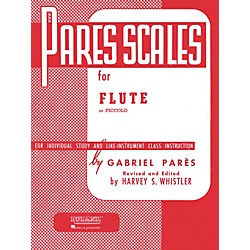 Hal Leonard Pares Scales For Flute Or Piccolo (4470490)