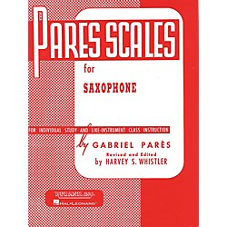 Hal Leonard Pares Scales For Saxophone (4470530)