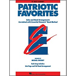 Hal Leonard Patriotic Favorites Bb Bass Clarinet (860088)