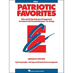 Hal Leonard Patriotic Favorites For Strings Viola Essential Elements (868065)