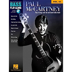 Hal Leonard Paul Mccartney - Bass Play-Along Volume 43 Book/CD (703079)