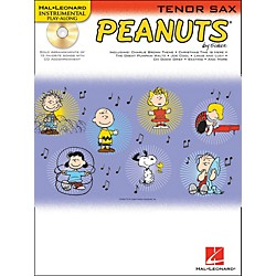 Hal Leonard Peanuts For Tenor Sax - Instrumental Play-Along Book/CD (842433)