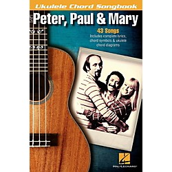 Hal Leonard Peter, Paul & Mary  Ukulele Chord Songbook (121822)