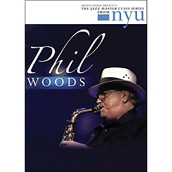 Hal Leonard Phil Woods - The Jazz Master Class Series From NYU (DVD) (320790)