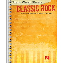 Hal Leonard Piano Cheat Sheets - Classic Rock (312526)