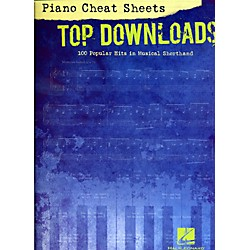 Hal Leonard Piano Cheat Sheets Top Downloads - 100 Popular Hits in Musical Shorthand (312525)