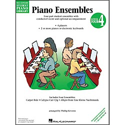 Hal Leonard Piano Ensembles Book 4 Hal Leonard Student Piano Library by Phillip Keveren (296067)