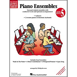 Hal Leonard Piano Ensembles Book 5 Hal Leonard Student Piano Library by Phillip Keveren (296090)