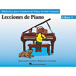 Hal Leonard Piano Lessons Book 1 - Spanish Edition (296384)