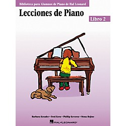 Hal Leonard Piano Lessons Book 2 - Spanish Edition Hal Leonard Student Piano Library (296545)