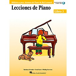 Hal Leonard Piano Lessons Book 3 Book/CD  - Spanish Edition Hal Leonard Student Piano Library (296575)