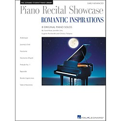 Hal Leonard Piano Recital Showcase - Romantic Inspirations - 8 Original Pieces For Early Advanced Level (296813)