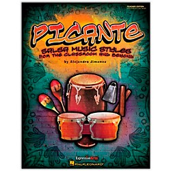 Hal Leonard Picante - Salsa Music Styles for the Classroom & Beyond Teacher's Edition (Orff) (9971497)