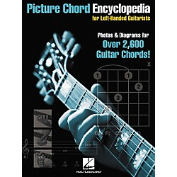 Hal Leonard Picture Chord Encyclopedia for Left-Handed Guitarists 9x12 Book (695693)
