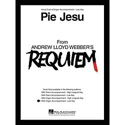 Hal Leonard Pie Jesu From Requiem Vocal Duet Low Voice With Organ Accompaniment (363608)