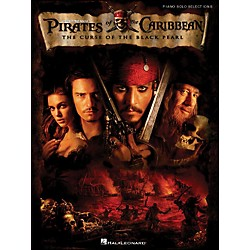 Hal Leonard Pirates Of The Caribbean - The Curse Of The Black Pearl arranged for piano solo (313256)