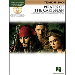 Hal Leonard Pirates Of The Caribbean For Tenor Sax Instrumental Play- Along Book/CD (842186)