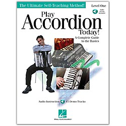 Hal Leonard Play Accordion Today! Level One Book/CD (701744)