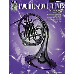 Hal Leonard Play-Along Favorite Movie Themes Book with CD French Horn (841171)