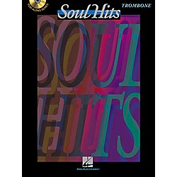 Hal Leonard Play-Along Soul Hits Book with CD Trombone (841662)