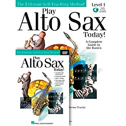 Hal Leonard Play Alto Sax Today! Beginner's Pack - Includes Book/CD/DVD (699555)