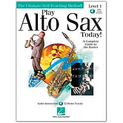 Hal Leonard Play Alto Sax Today! Level 1 Book/CD (842049)