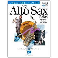 Hal Leonard Play Alto Sax Today! Level 2 CD/Pkg (842050)