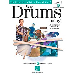Hal Leonard Play Drums Today! - Level 1 Book/CD (842021)