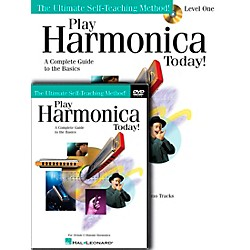Hal Leonard Play Harmonica Today! Beginner's Pack - Includes Book/CD/DVD (701875)