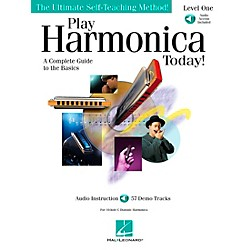 Hal Leonard Play Harmonica Today! Level One Book/CD (700179)