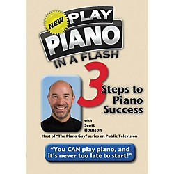 Hal Leonard Play Piano In A Flash - 3 Steps To Piano Success DVD (321244)