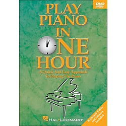 Hal Leonard Play Piano In One Hour! DVD (320442)